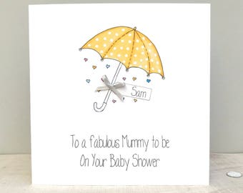 baby shower card etsy