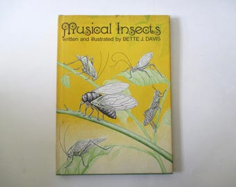 Musical Insects by Bette J. Davis -signed