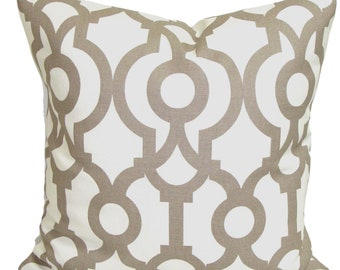 TAN PILLOWS, Ecru Pillow Cover, Decorative Pillow, Throw Pillow, Taupe Pillows, Tan Accent Pillow, Pillow Covers, All Sizes, Euro, Cushion
