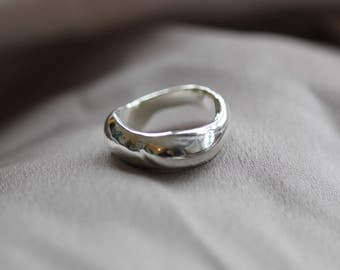 Silver Form Ring