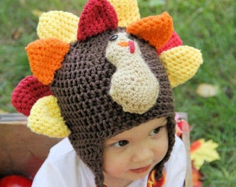Tony The Turkey - PDF Crochet Pattern Instant Download