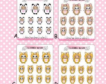 Kawaii Characters Deco (R7)