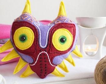 Majora's Mask Handmade Felt Toy Legend of Zelda Nintendo Keychain