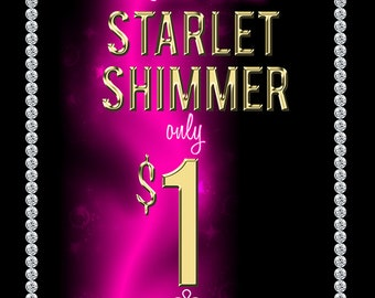 DIGITAL DOWNLOAD Paparazzi Starlet Shimmer Sign