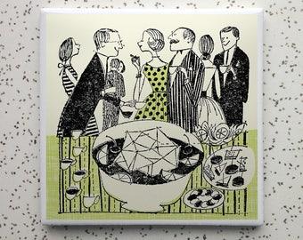 Punchbowl Tile Coaster