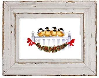 PDF cross stitch:  christmas winter