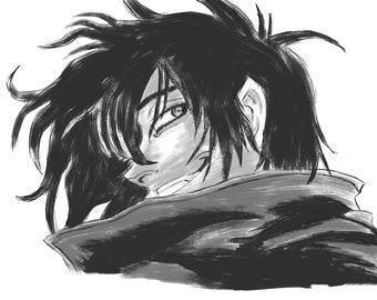 Alucard || Hellsing Anime Art Print