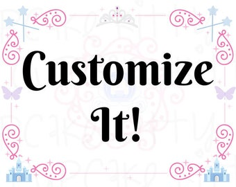 CUSTOMIZE IT! Customize Your Party Certificate! Add a logo, change the words, add name, etc