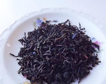 Earl Grey Tea, Loose Leaf Tea,  Black Tea, Wedding Favor, Tea Party Gift, Shower Favor