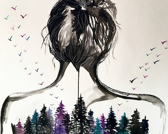 Wild Woman Print