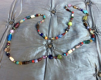 Funky, bohemian necklace III