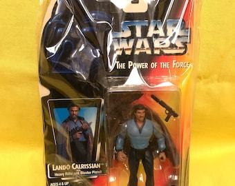 Starwars Lando Calrissian Kenner Action Figure