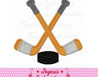 Instant Download Hockey Applique Embroidery Design NO:2110