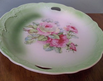beautiful antique decorative plate