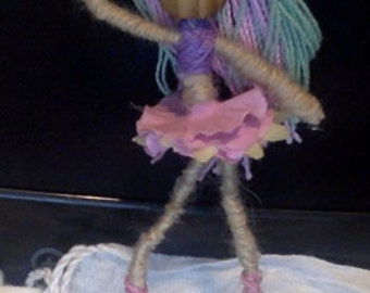 Posable Ballerina Doll