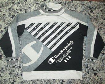 sweatshirt champion big logo