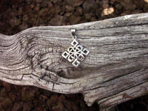 Sterling Silver Crltic Pendant - #