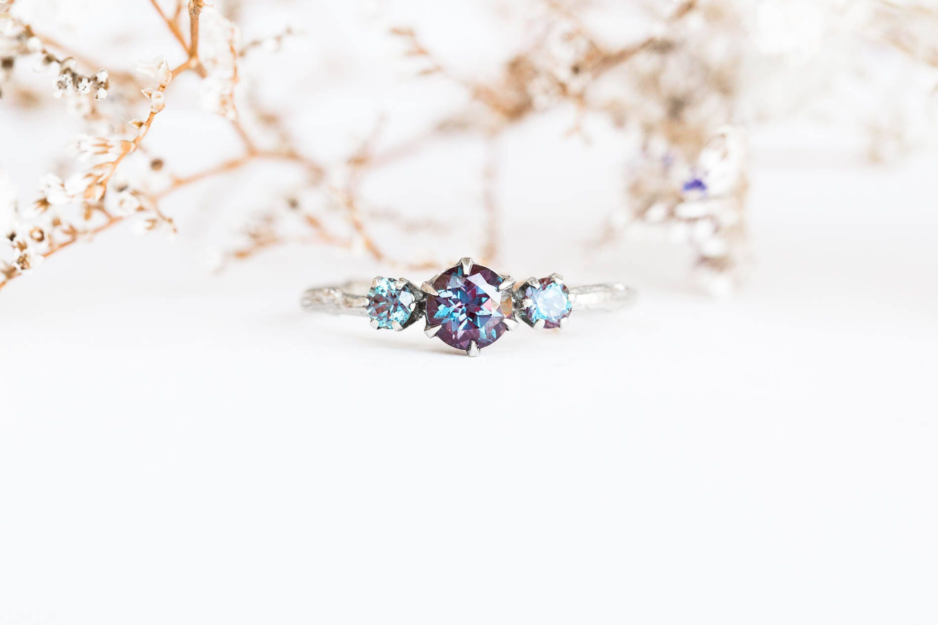 pear ring takayas custom jewelry blog and engagement diamond side rings alexandrite