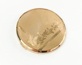 40s Gold Compact | Elgin American