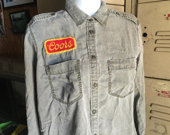 One of a Kind Sweet Leaf Revival Coors Shirt