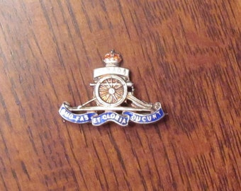 Canada WWII era Sweetheart Badge Artillery