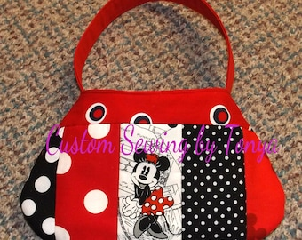 Sale In the Hoop Little Girls Purse 6x10 inch hoop or larger