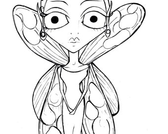 INSTANT DOWNLOAD Tianna the Fairy Elf