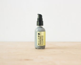 WILLOW CHARCOAL CLEANSER // Creamy Sudsing Face Wash // All-Natural // No sls or Parabens