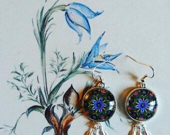 Mandala Dream Catcher Earrings ~ Spiritual ~Beautiful~Dangling~ Earrings