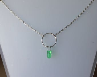 Green LED Necklace