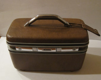 Samsonite Silhouette II Brown Overnight Case