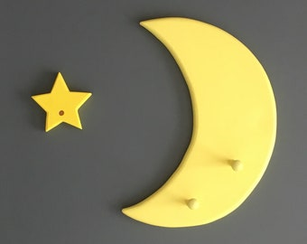 Moon and Stars Coat Rack - Coat Hook