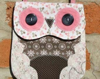 Pattern: Owl Mini Bag Sewing Pattern