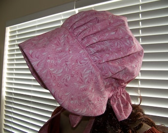 pioneer ladies bonnet hat head gear,thanksgiving, reeanctment,theater,plays,social events