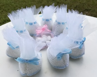 Sachets favors / / pouch sweets / / door sweets / / decorative baby booties