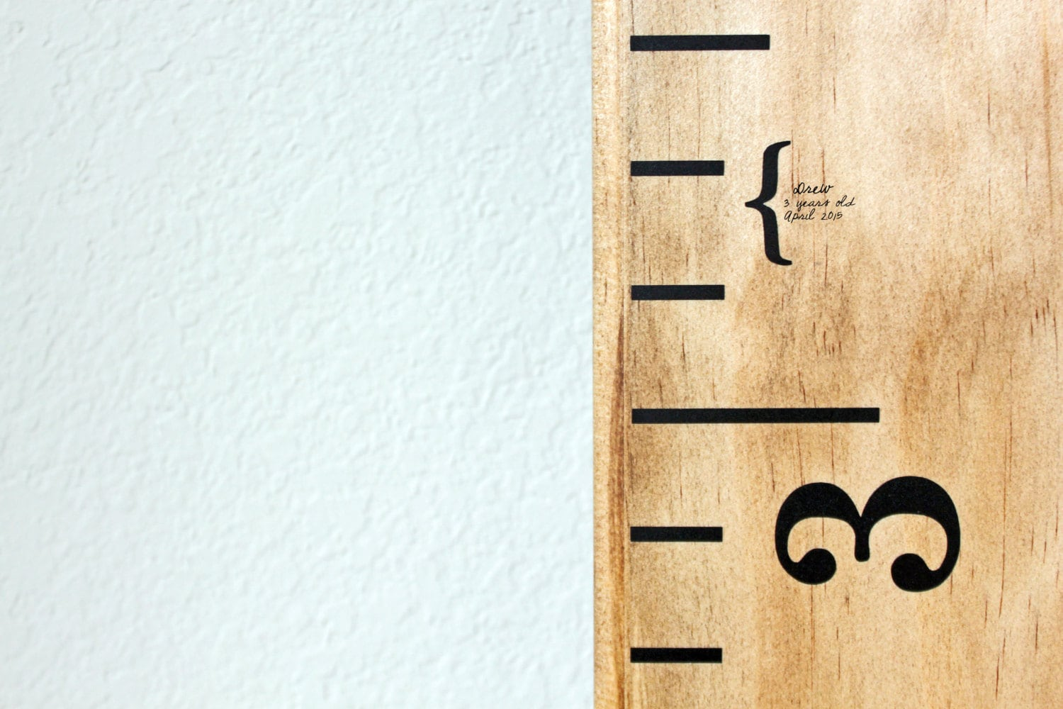 Height markers for growth chart ruler vinyl decal mini zoom nvjuhfo Gallery