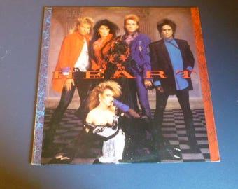 Heart Vinyl Record LP ST-512410 Capital Records 1985