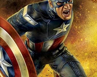 Captain America Civil War 11x17