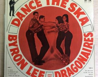 Reggae LP Byron Lee And The Dragonaires Dance The SKA Vintage BMN Vinyl