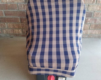 Car seat cover, nursing cover, and buggy cover