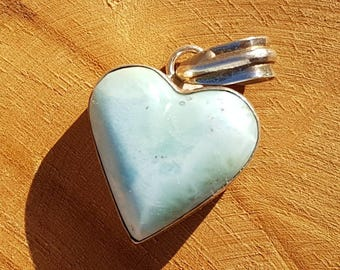 Larimar Necklace Pendant