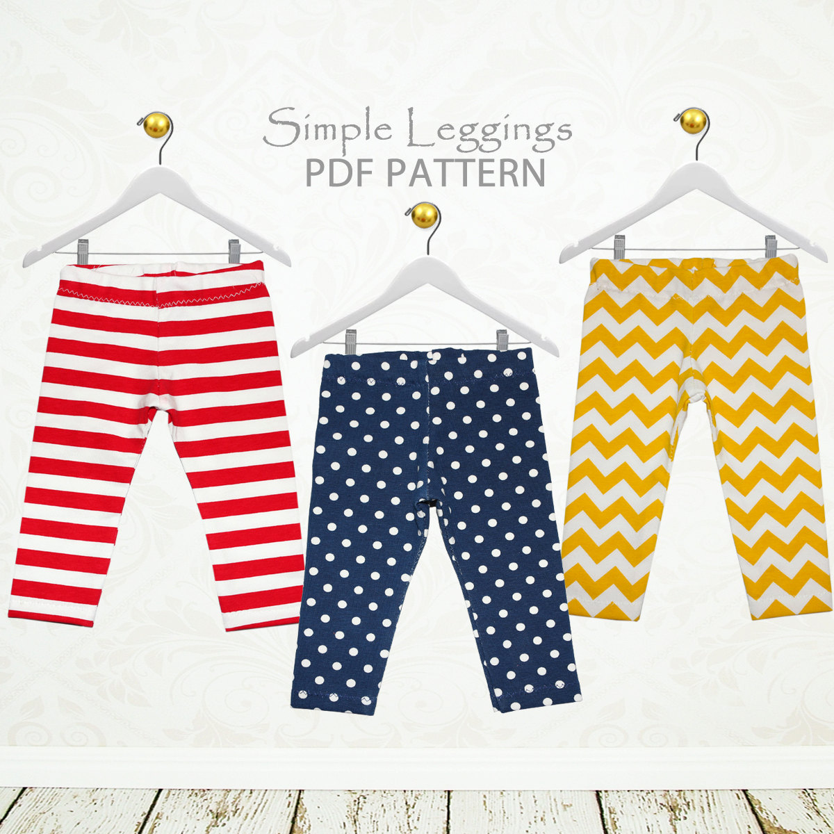 Leggings pattern pdf girls sewing pattern pdf childrens zoom jeuxipadfo Choice Image