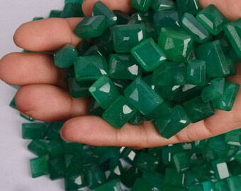 Natural Colombian Green Emerald Loose Gemstones Lot, 100 Ct./12 Pieces with free shipping  wholesale price for emerald reselling and making