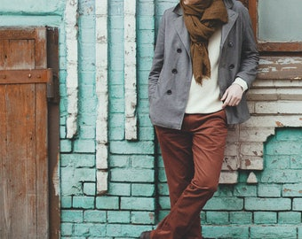 Whiskey Brown Chinos | Chino Pants / Slacks for Men | Business Casual Menswear