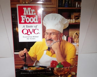 Mr food recipe book etsy mr foods a taste of qvc food and fun behind the scenes ooh forumfinder Gallery