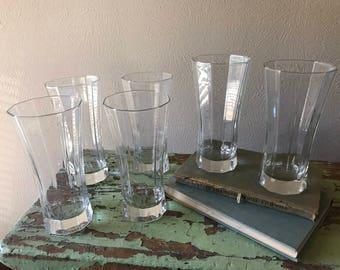 1990 Retro Crystal Drinking Glasses