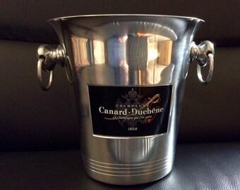 "Bucket champagne ""Canard Duchêne"" 1868"