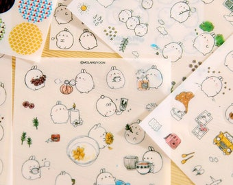 Molang Rabbit Planner Stickers ST6011MRS