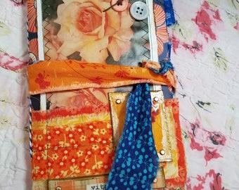 "Floral Themed TN Junk Journal, 8"" x 4.75"", ""Vitality"""