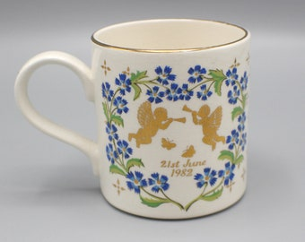 Commemorative Mug Royal Birth of Prince William 1982 Prince Charles and Lady Diana Ceramic